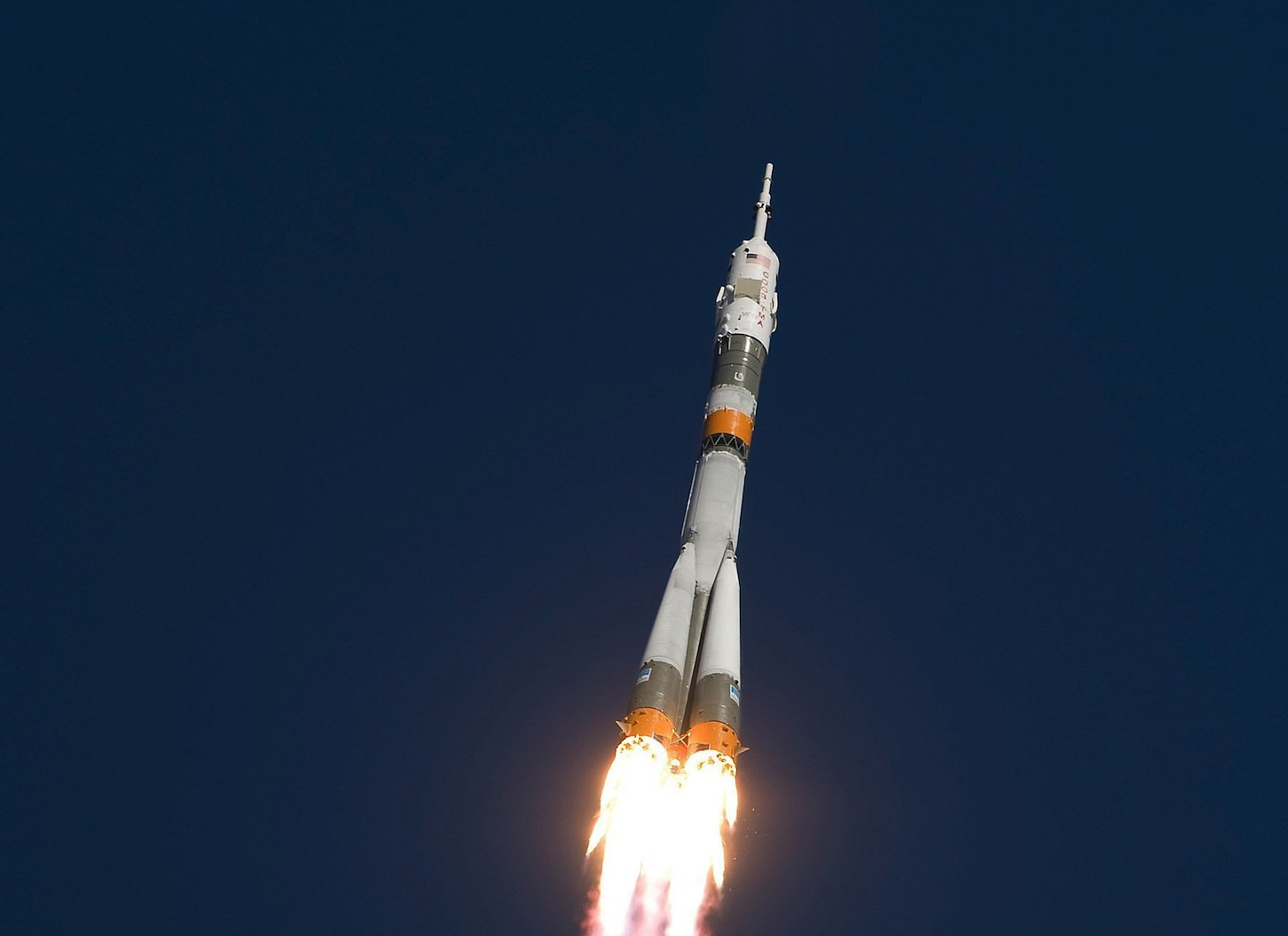 Soyuz at launch
